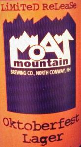 Moat Mountain Oktoberfest Lager